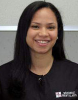 dental assistant, Daniela Ramos